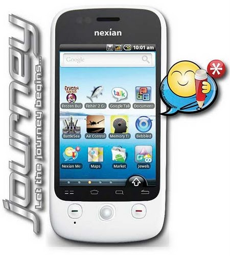 HP handphone Nexian-NX-A890-Journey